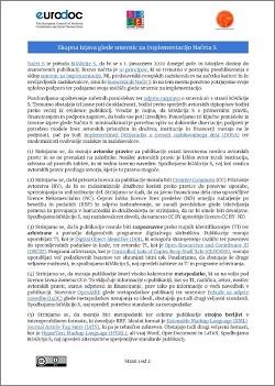 Skupna izjava glede smernic za implementacijo Načrta S