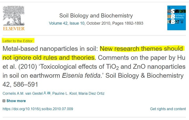 van Gestel et al. 2010 Soil Biology and Biochemistry
